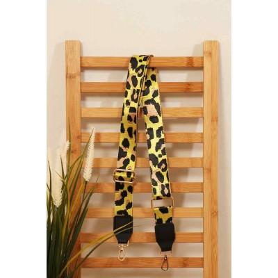 Bag Strap - Leopard (Yellow)