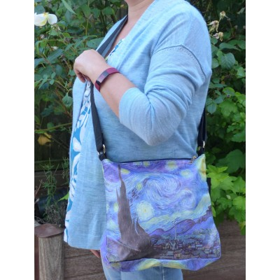 Crossbody Bag - Van Gogh's Starry Night