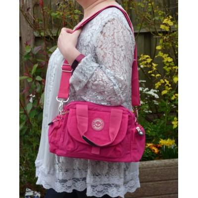 Multi-Purpose Handheld Bag (Sm/Med) - Hot Pink