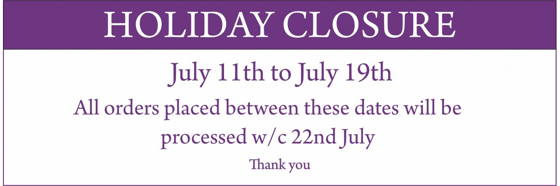 Holiday Closure...