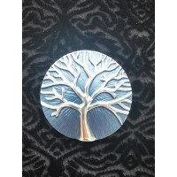 Magnetic Tree Of Life Scarf Brooch