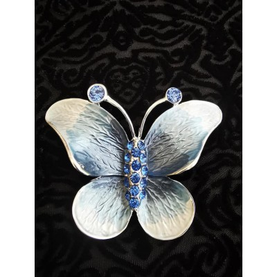 Magnetic Butterfly Scarf Brooch