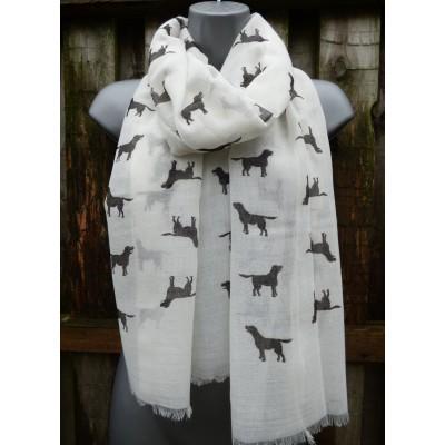 Black Labradors (Off White)