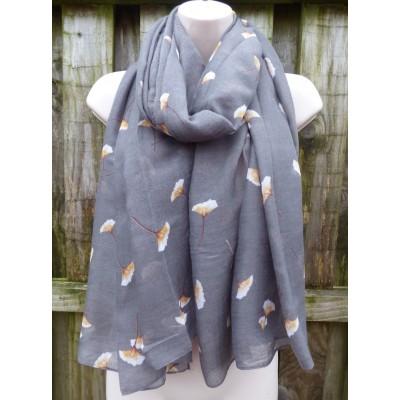 Ginkgo Flower 9156 (Grey)