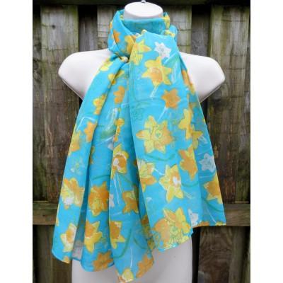 Turquoise Daffodils