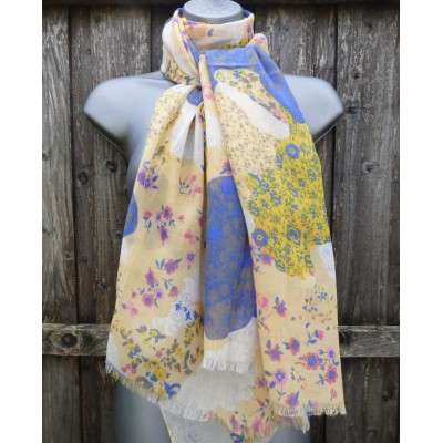 Flower Patches (Yellow / Blue)