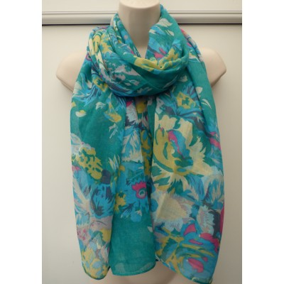 Pipa Floral (Green)