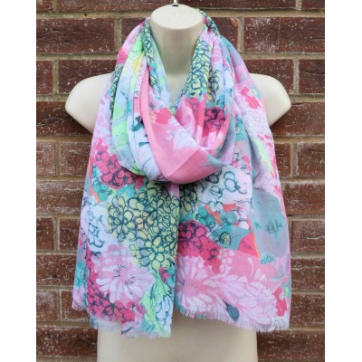 Bright Meadow MS2718 (Pink / Multicoloured)