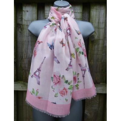 Paris Floral (Pink)