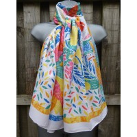 Silk Mix Bright Countryside LS942 (White)