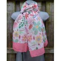Summer Floral M3738 (Pink)