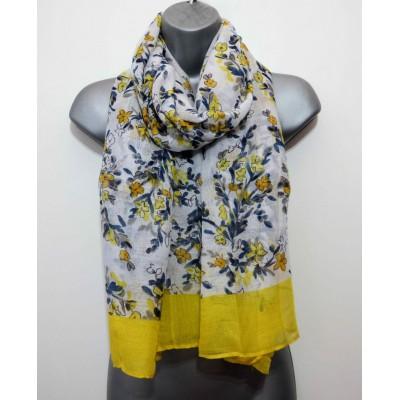 Yellow Border Floral (SH1261)