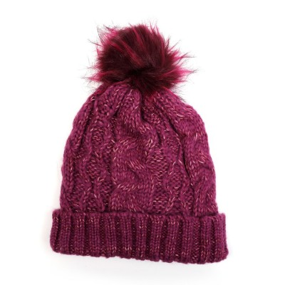 Lined Bobble Hat (H804)