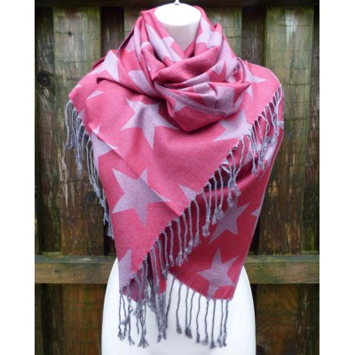 Reversible Star Pashmina