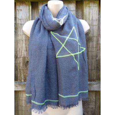 Side Star SH2699 (Dark Denim / Lime)