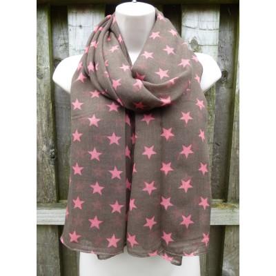 Stars (Chocolate / Pink)