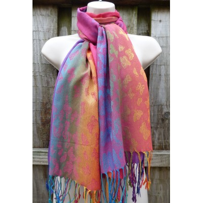 Pride Butterfly Pashmina