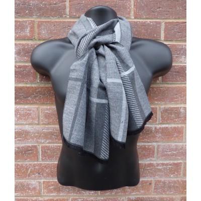 Men's Stripe Check 3262 (Grey)