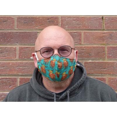 Adjustable Filter Mask - Eco Highlands (Jade)