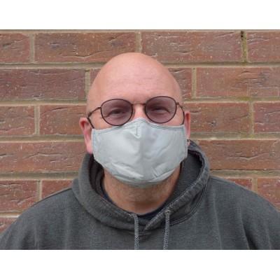 Adjustable Filter Mask - Plain Grey