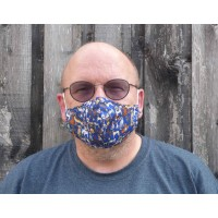 Adjustable Filter Mask - Eco Dogs (Navy)