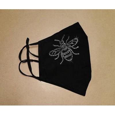Adjustable Filter Mask - YC Sparkle Bee (Black)