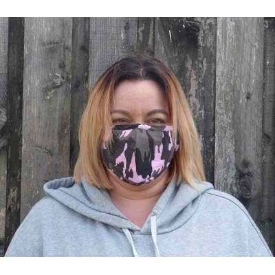Adjustable Filter Mask - Camo