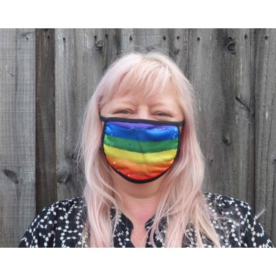 Double Layer Stretch Mask - Watermark Pride