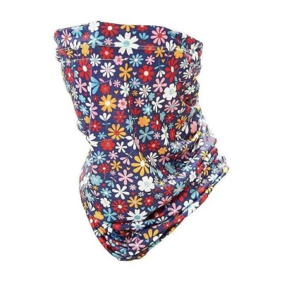 Stretch Snood - Eco Filter Snood - Ditzy Flowers (Multicoloured)