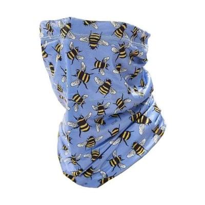 Stretch Snood - Eco Filter Snood - Bees (Indigo)