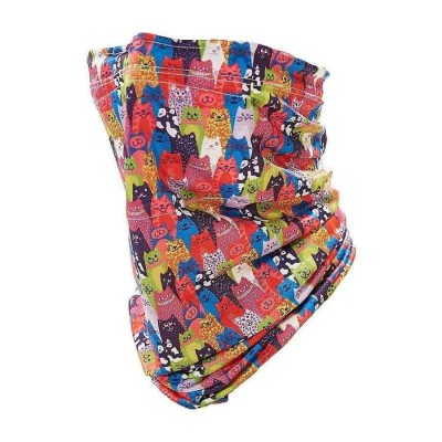 Stretch Snood - Eco Filter Snood - Cats (Multicoloured)