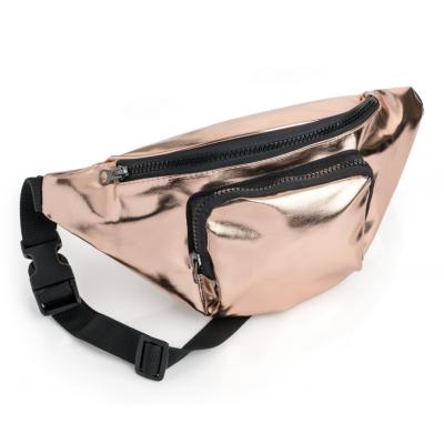 Metallic Bum Bag (Rose Gold)