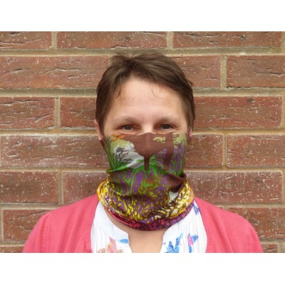 Stretch Snood - Trees (Multicoloured)