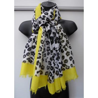 Neon Border Leopard 9040 (Yellow)