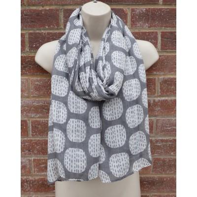 Pinstripe Squares 7170 (Grey)