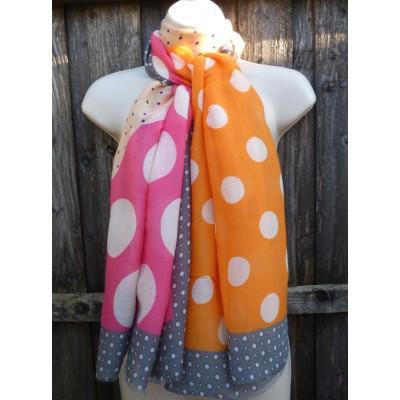 Dots 20043 (Orange / Pink)