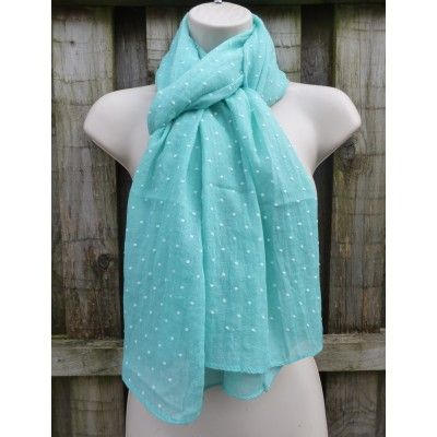 Embossed Dots (Mint)