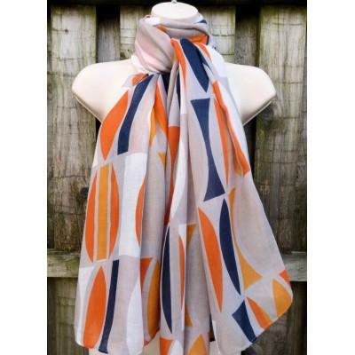 Shapes 9126 (Grey / Navy / Orange)