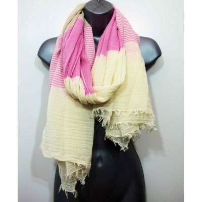 Soft Panel Stripes SH3017 (Pink / Ecru)
