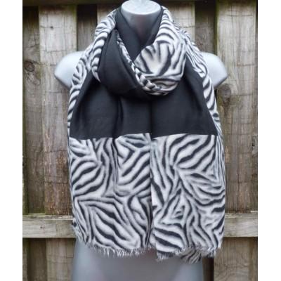 Zebra Border 9129 (Black)