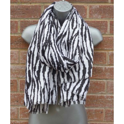 Zebra Print 9146 (Black & White)
