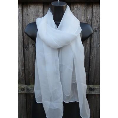 Pure Silk Plain (White)