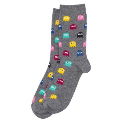 Socks (4-7) - Retro Arcade (Grey)