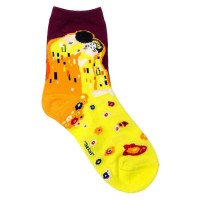 Socks (4-7) - Klimt - The Kiss  60554 - Yellow