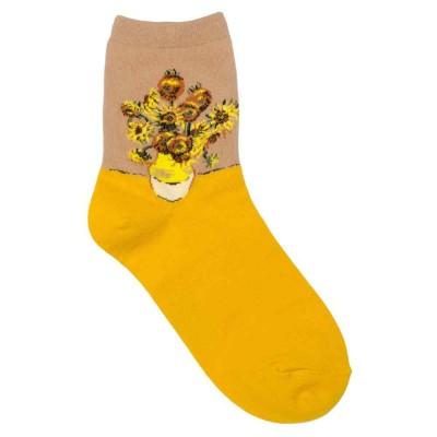 Socks (4-7) - Van Gogh - Sunflowers - 60550 - Yellow