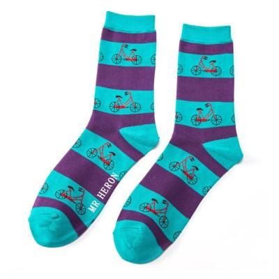 Socks (7-11) - Bikes- MH116 - Turquoise