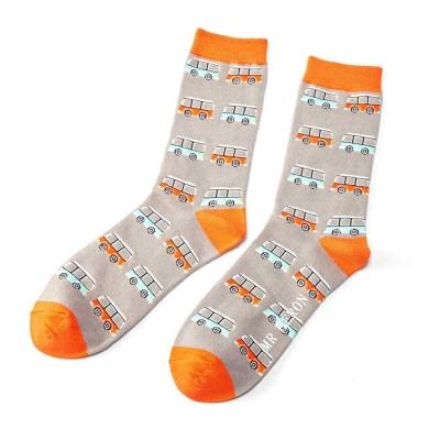 Socks (7-11) - Campervans- MH112 - Grey