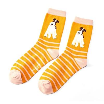 Socks (4-7) - Fox Terrier Stripes-SKS118