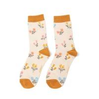 Socks (4-7) - Dainty Floral - SKS225