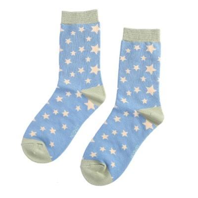 Socks (4-7) - Stars - SKS193 (Blue)